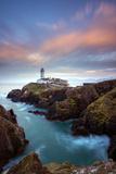 One of the lighthouses on the island, the Fanad Head, County Donegal, Ireland. Impressão fotográfica por  ClickAlps