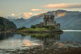 Europe, United Kingdom, Scotland, Dornie,Eilean Donan Castle, west, Photographic Print by Christian Heeb