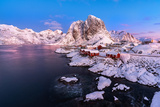 Hamnoy, Lofoten Islands, Norway Impressão fotográfica por  ClickAlps