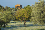 Temple of Concordia, Valley of the Temples, Agrigento, Sicily, Italy Photographic Print by Marco Simoni