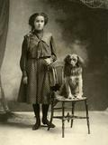 Hattie Smith, Age 16 Years, 30 September 1901 Impressão fotográfica por L.B. Forrest