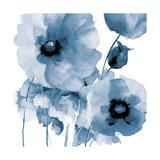 Flowing Flowers Premium Giclee Print by Victoria Brown