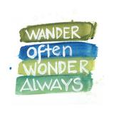 Wander Premium Giclee Print by Smith Haynes