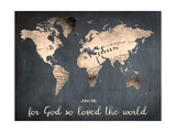 For God So Loved The World Premium Giclee Print by Sheldon Lewis