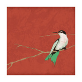 Birds On Branch Premium Giclee Print by Jace Grey