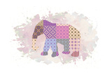 Elephant Prints by Victoria Brown
