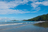 Surf on the Beach, Costa Rica Beach, La Punta Papagayo, Gulf of Papagayo, Guanacaste, Costa Rica Fotografie-Druck