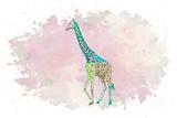 Giraffe Poster by Victoria Brown