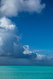 Clouds over the Pacific Ocean, Bora Bora, Society Islands, French Polynesia Fotografie-Druck