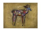 Greta the Gazelle Reproduction giclée Premium par John Douglas