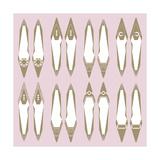 Shoe Collection Kunstdrucke von Olivia Blinco