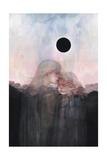 Sunset Children Poster von Agnes Cecile