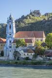 Castle and Abbey, Durnstein, River Danube, Wachau Valley, UNESCO World Heritage Site, Lower Austria Impressão fotográfica por Rolf Richardson