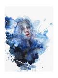 Water Flow Giclée-Premiumdruck von Agnes Cecile