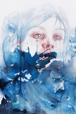 Wave Upon Wave, The Sea Brought Me Here Poster von Agnes Cecile