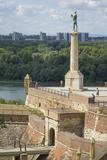 Victor Column, Kalemegdan Fortress, Belgrade, Serbia, Europe Impressão fotográfica por Rolf Richardson