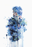 Evaporate Poster von Agnes Cecile