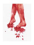 The Walk Print van Agnes Cecile