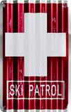 Ski Academy Blechschild