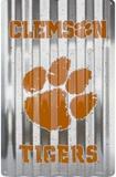 Clemson Tigers Placa de lata