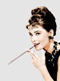 Breakfast at Tiffany's, Audrey Hepburn, 1961 Fotografia