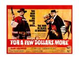 For a Few Dollars More, L-R, Clint Eastwood, Lee Van Cleef, 1965 Prints