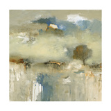 Abstracted Landscape III Premium Giclee Print by Lisa Ridgers