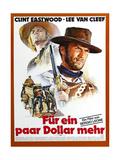 For a Few Dollars More, L-R Klaus Kinski, Clint Eastwood, 1965 Posters