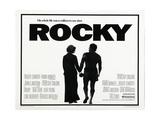 Rocky, L-R: Talia Shire, Sylvester Stallone, 1976 Giclée-Premiumdruck