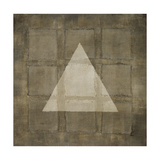 Silver Shapes III Premium Giclee Print by Randy Hibberd