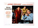 Rear Window, Thelma Ritter, Grace Kelly, James Stewart, 1954 Art