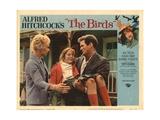 The Birds, Lobbycard, L-R: Tippi Hedren, Rod Taylor, 1963 Prints