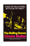 Gimme Shelter, US Poster Art, Mick Jagger, Keith Richards, (AKA the Rolling Stones), 1970 Affiches