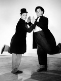 Way Out West, Stan Laurel, Oliver Hardy, 1937 写真