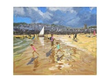 August in St Ives 2013 Giclee Print by Andrew Macara