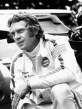 Le Mans, Steve Mcqueen, on Set, 1971 Foto