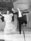 Top Hat, L-R: Ginger Rogers, Fred Astaire, 1935 Photo