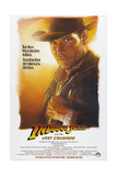 Indiana Jones and the Last Crusade, US Advance Poster, Harrison Ford, 1989 Posters