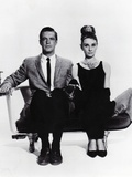 Breakfast at Tiffany's, L-R: George Peppard, Audrey Hepburn, 1961 Fotografia