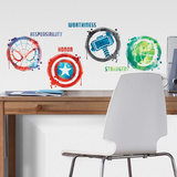 Marvel Icons Glow in the Dark Wall Decal