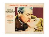 Rear Window, L-R: James Stewart, Grace Kelly, 1954 Prints