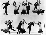 "The Gay Divorcee, Fred Astaire, Ginger Rogers in the Dance ""The Continental, "" 1934 Photo"