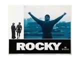 Rocky, Sylvester Stallone, 1976 Premium Giclee-trykk