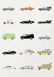 Movie Car Collection Posters
