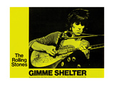 Gimme Shelter, Keith Richards, 1970 Poster