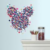 Disney Minnie Heart Confetti Veggoverføringsbilde