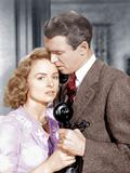 It's a Wonderful Life, L-R: Donna Reed, James Stewart, 1946 Foto