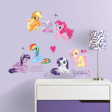 Hasbro My Little Pony the Movie Wall Decal