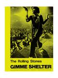 Gimme Shelter, Mick Jagger, 1970 Kunstdruck