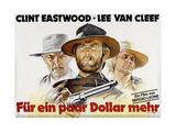 For a Few Dollars More, Lee Van Cleef, Clint Eastwood, Klaus Kinski, 1964 Posters